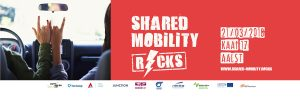 Shared Mobility Rocks, Ghent, Belgium