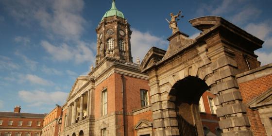 Dublin-castle-front