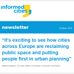 Informed Cities newsletter