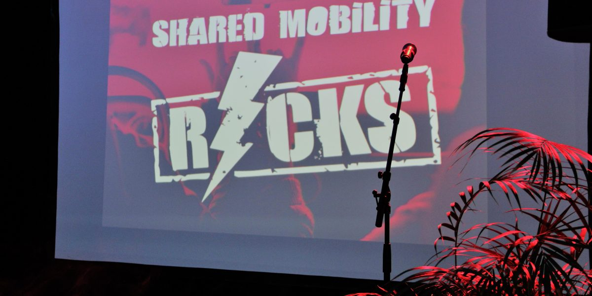 Shared Mobility Rocks event