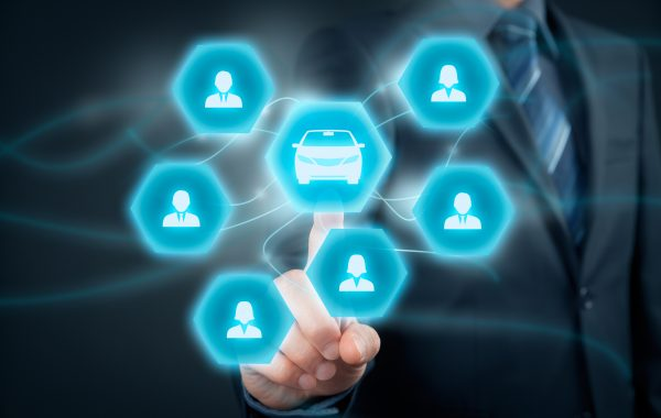 Carsharing concept, multidimensional
