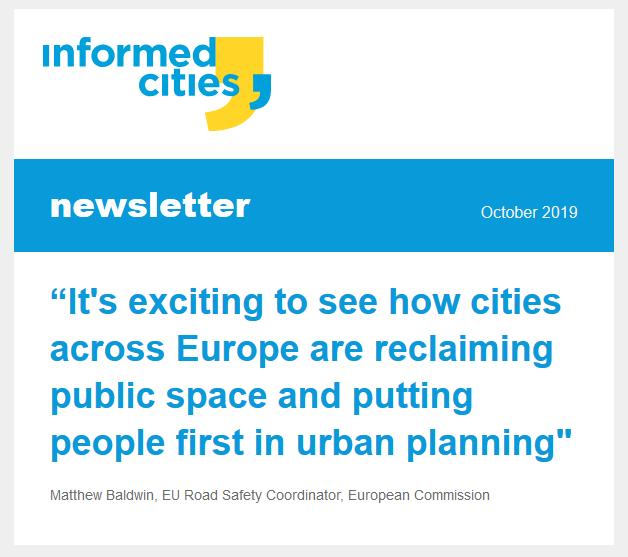 Informed Cities newsletter